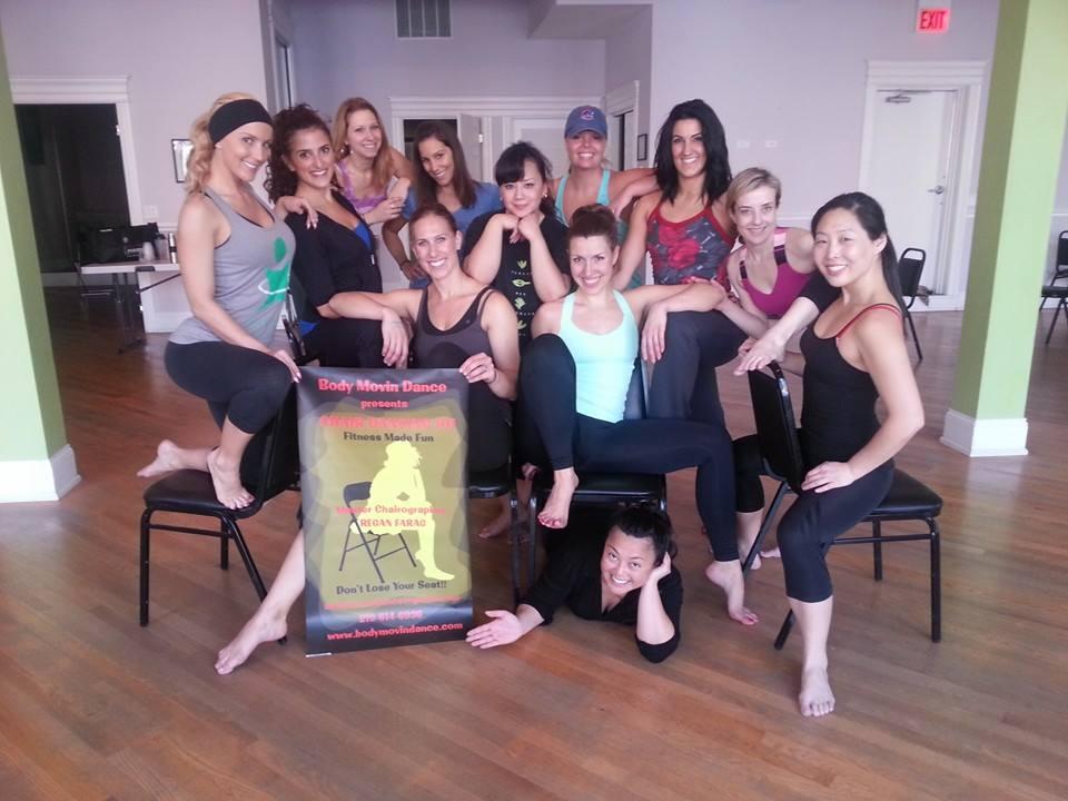 chair dance girls 2