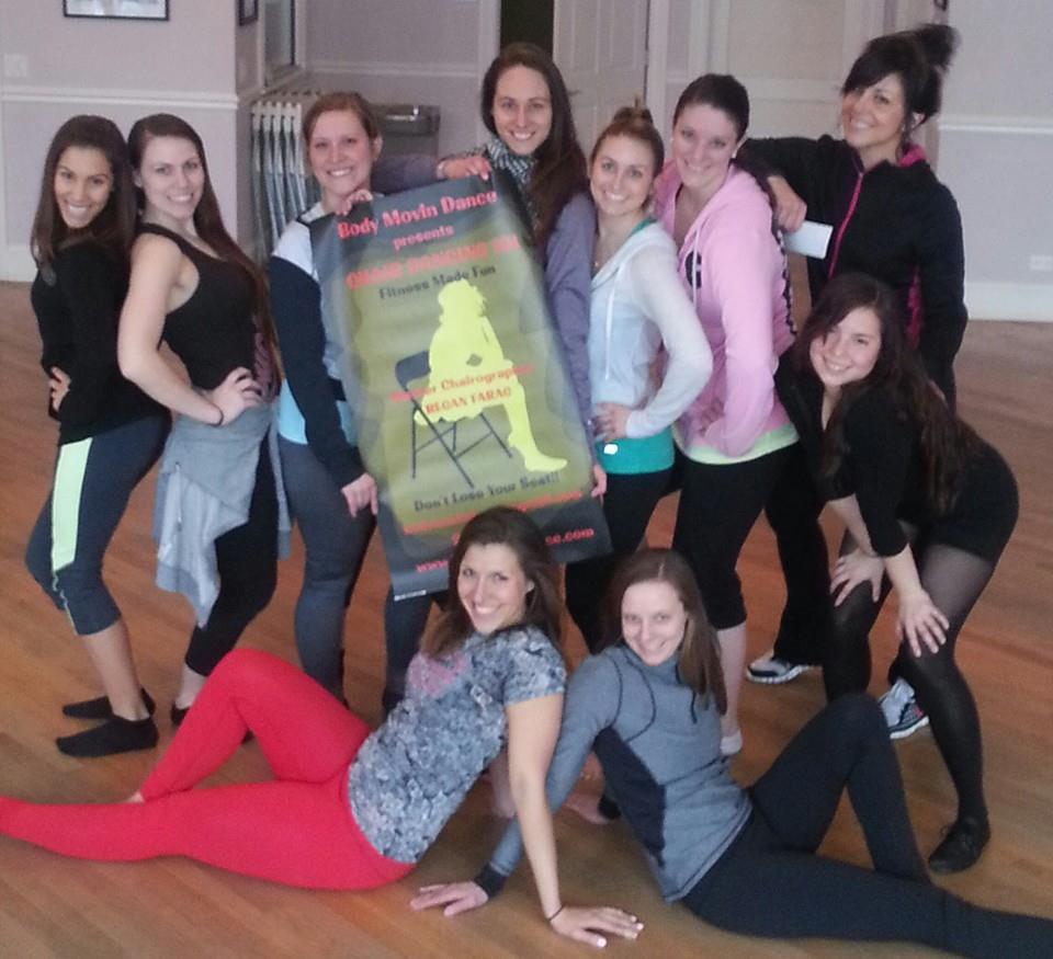 Chair Dance 101-girls