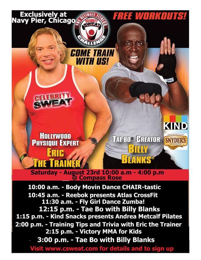 Celebrity Sweat poster