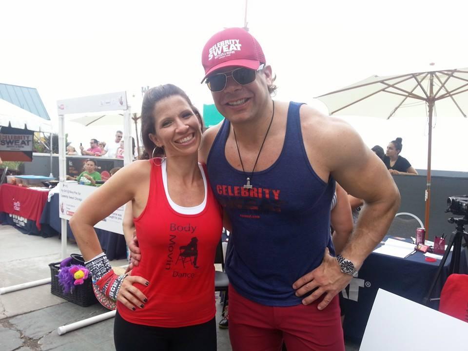 Celebrity Sweat eric the trainer 1