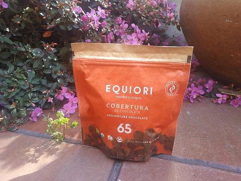 COBERTURA DE CHOCOLATE ORGANICO 65% X 200GR