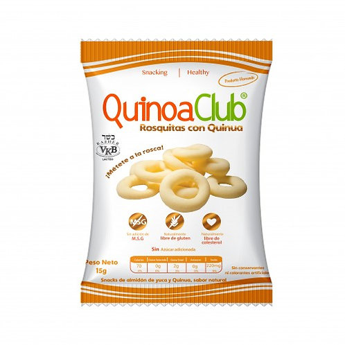 ROSQUITAS DE QUINUA (2 variedades)