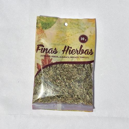 FINAS HIERBAS 10GR
