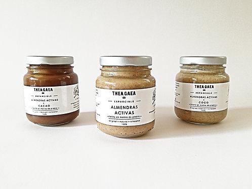 MANTEQUILLA ALMENDRAS (3 variedades)