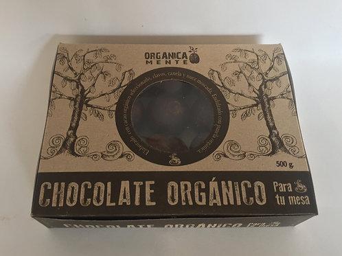 CHOCOLATE  ORGÁNICO PARA BEBIDAS