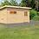 Thumbnail: Rauma 2 Interline Sauna für den Außenbereich inkl. Zubehörset 9 kW Saunaofen, 4