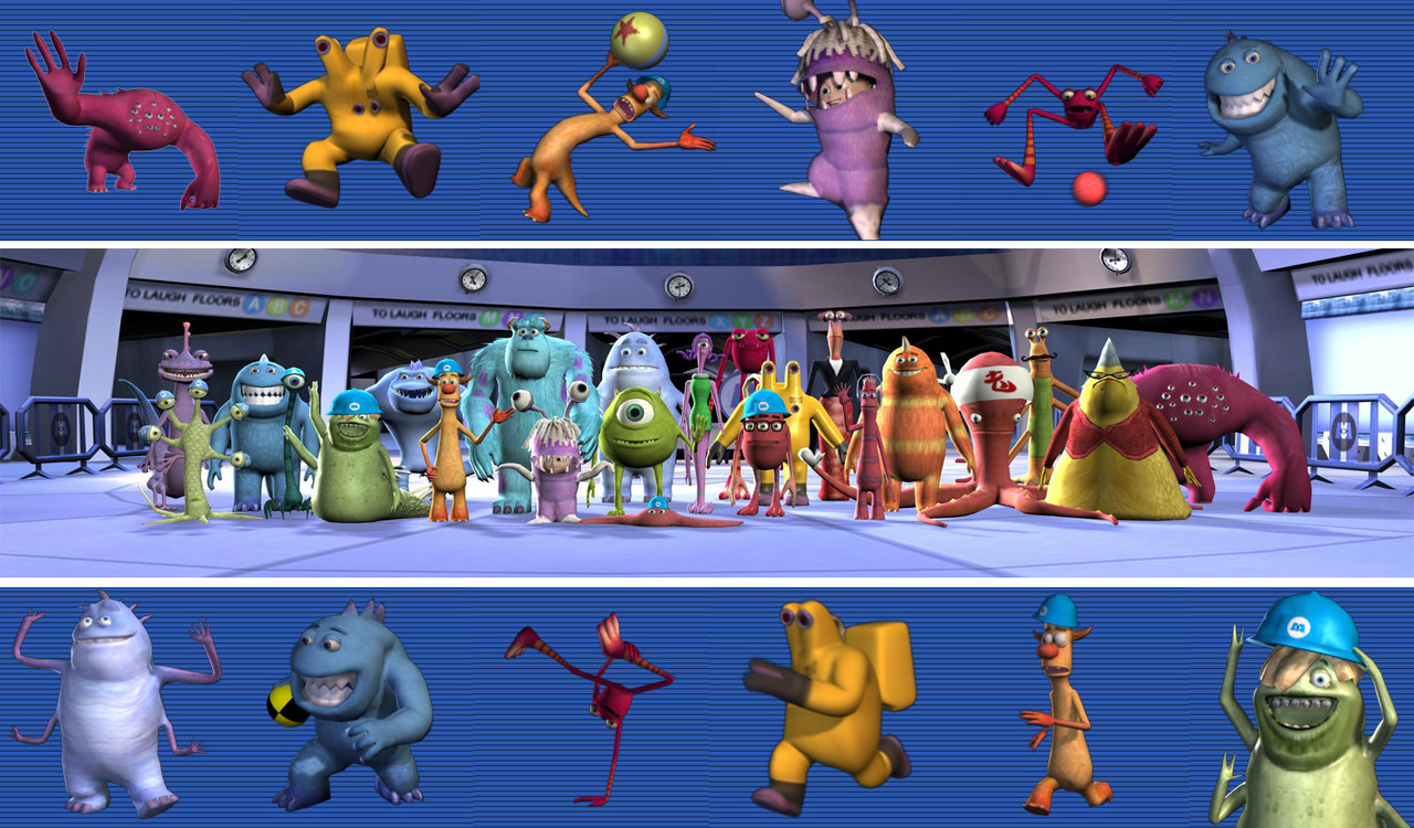 Monsters Inc Scream Arena