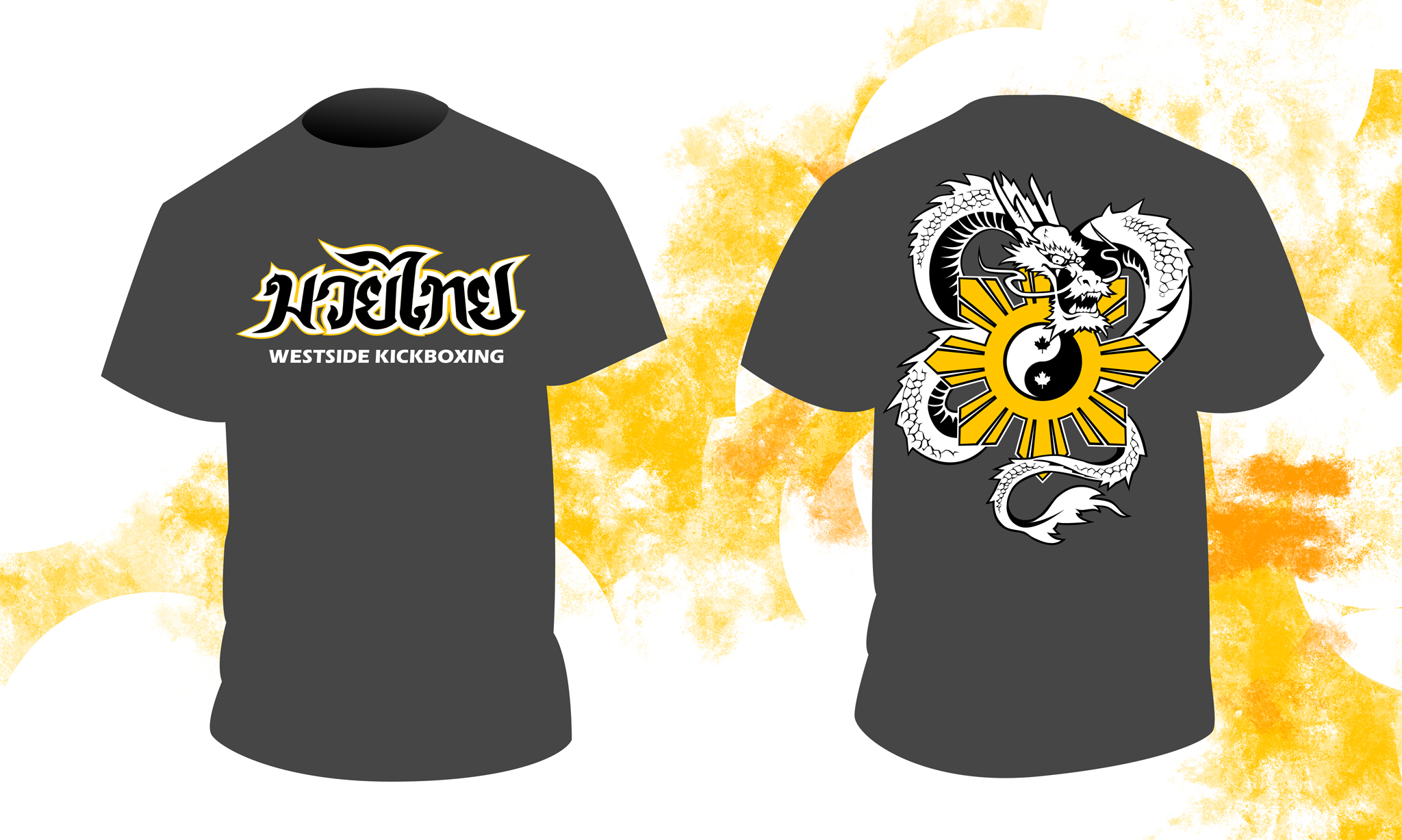 Westside kickboxing t-shirt design