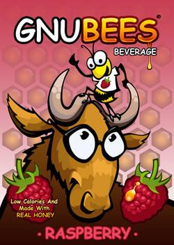 Gnubees beverage label