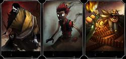 Character Skin menu images