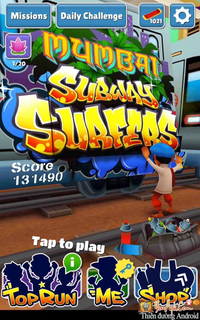 Subway Surfers Dinheiro Cortar HD