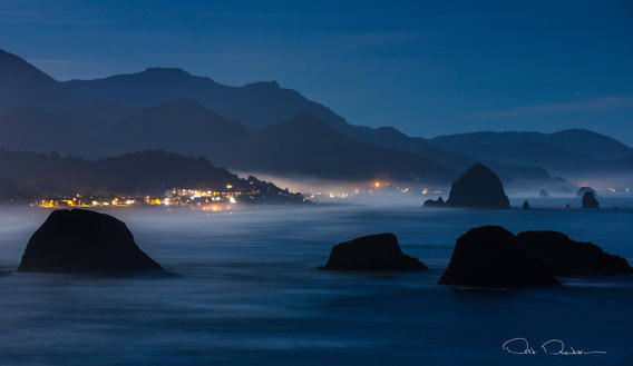 Cannon Beach Moonlight