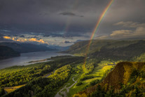 Columbia Gorge Rainbow