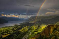 Columbia Gorge Rainbow