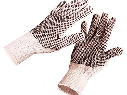 Guantes de algodón con puntos de PVC Jyrsa SG-3205M