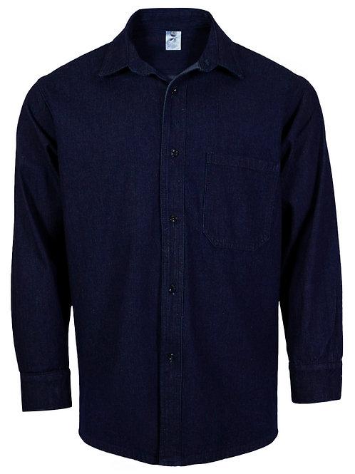 Camisa industrial de mezclilla 10 oz. IPF