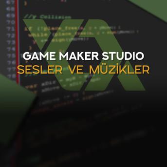 Game Maker: Studio Sesler Ve Müzikler