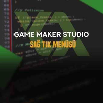 Game Maker: Studio 1 Sağ Tık Menüsü