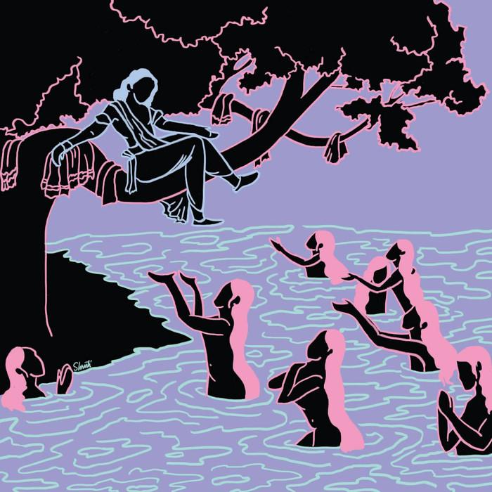 Krishna And You Illustration
