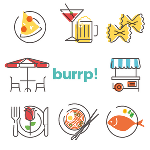 Burrp App Icon Design