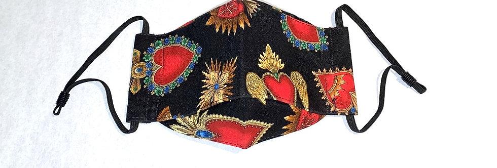 Sacred Heart Mask