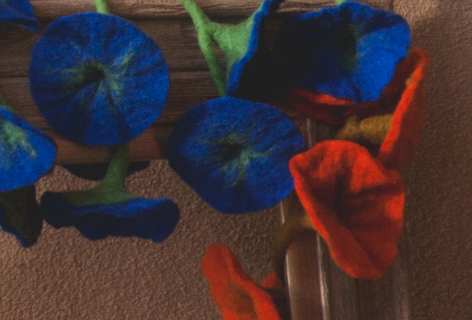 Felted Wool Flora