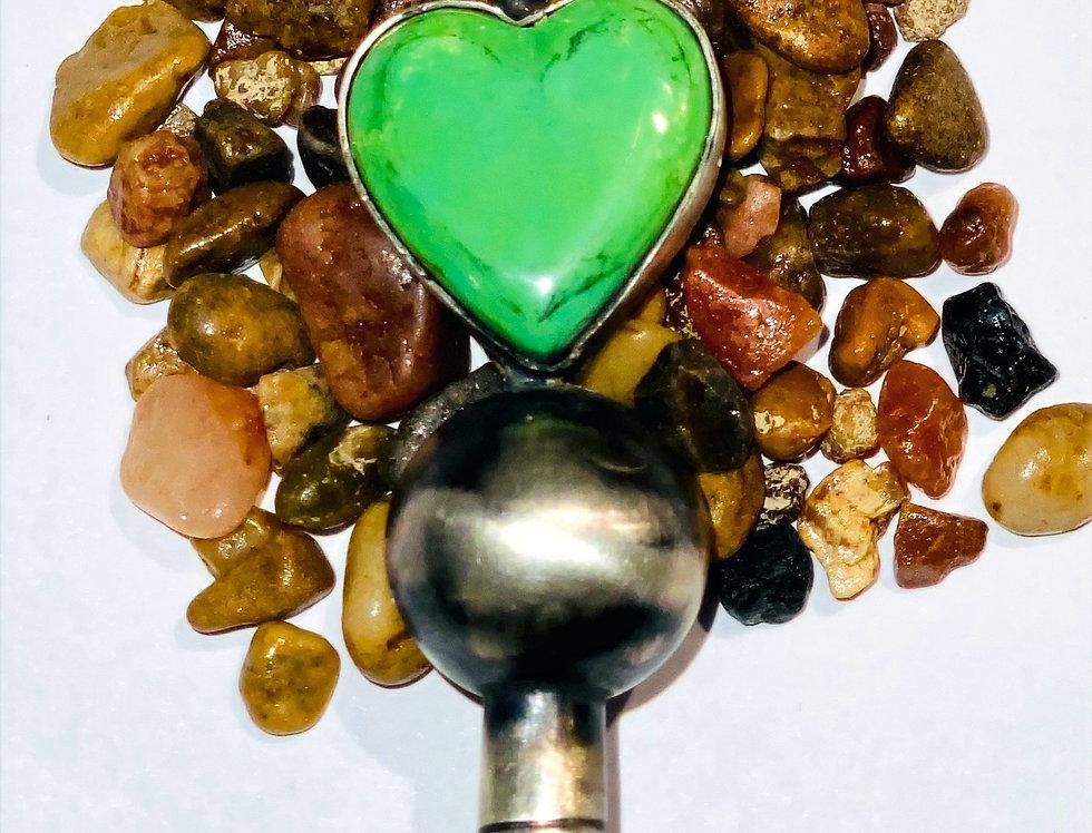 Mojave Turquoise Heart