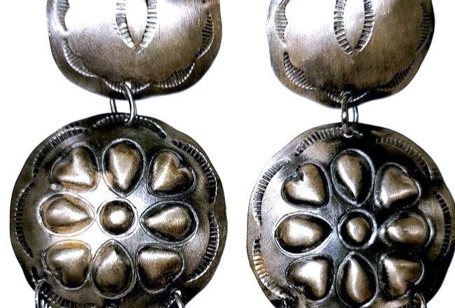 13- Double Concho Earring