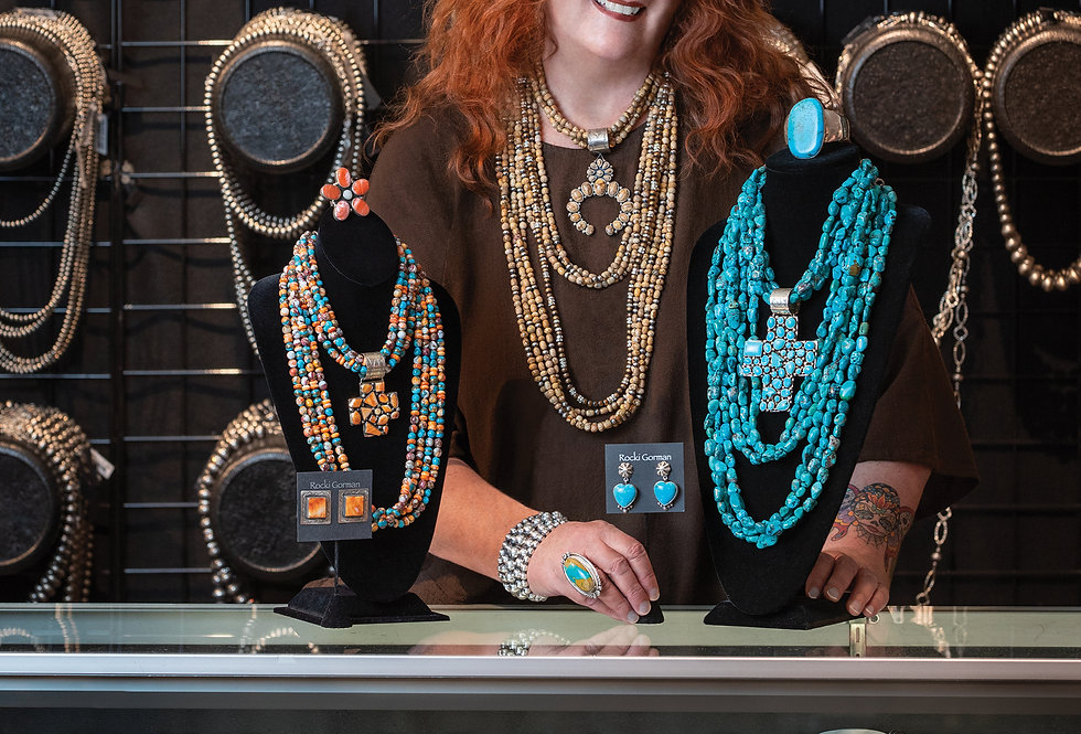 Rocki Gorman Jewelry Designer of Santa Fe