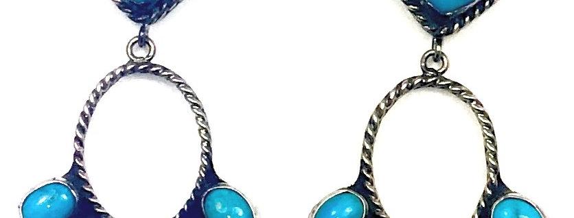 BIRDCAGE-Blue Turquoise