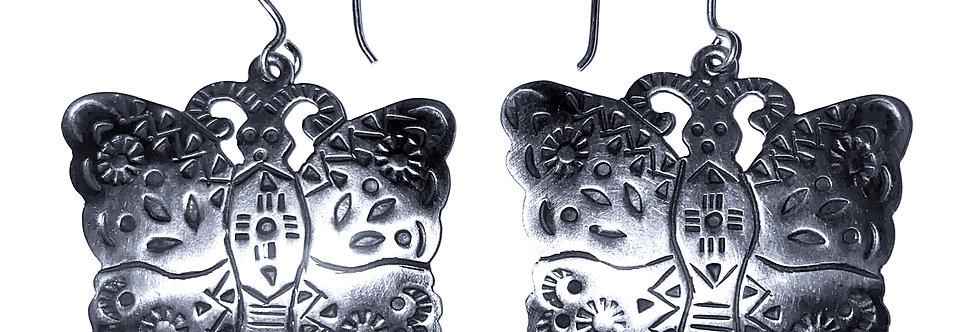 OLD MEXICO BUTTERFLY EARRINGS