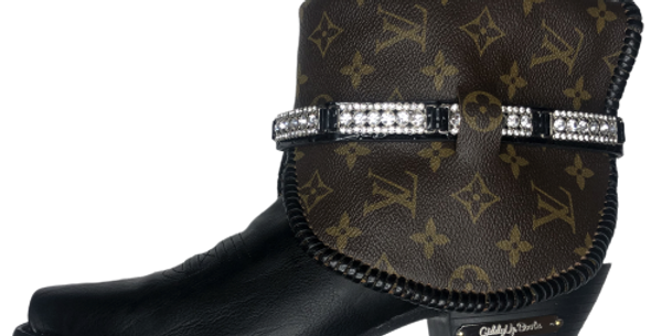 #397 Giddy Up Louis V size 9.5 boots