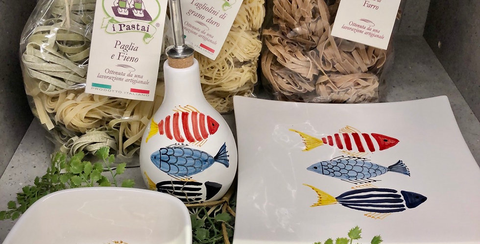 Pesce Ceramic Gift Set