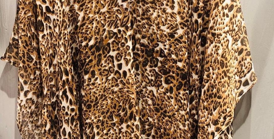 Leopard Print Beach Cover