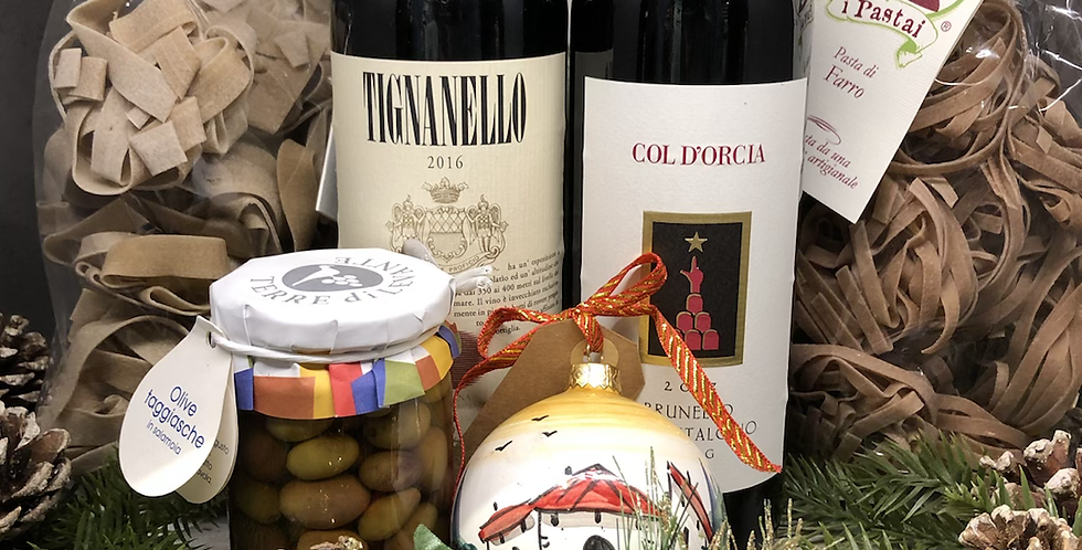 Super Tuscan Christmas Package