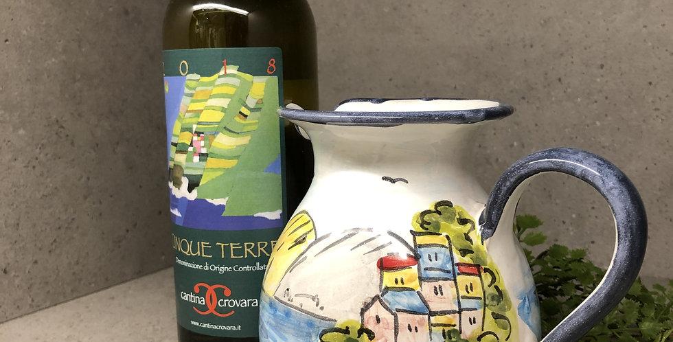Cinque Terre Wine Jug