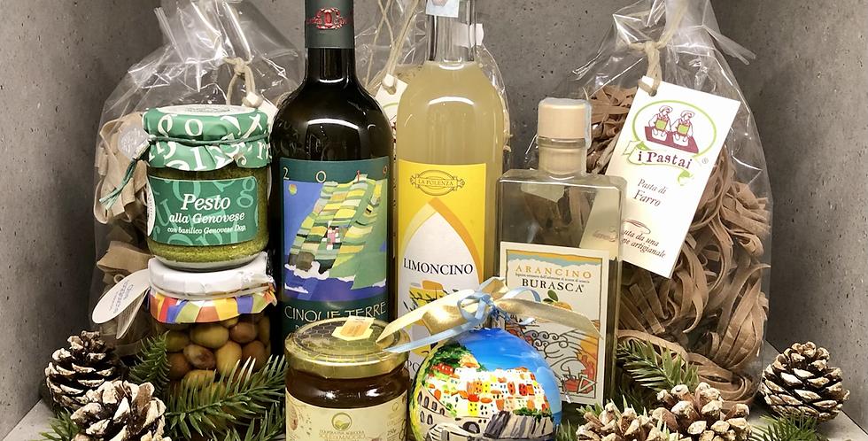 Ciao Cinque Terre Christmas Box
