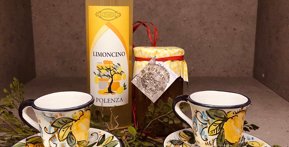 Lemon teacup OR mug sweet package