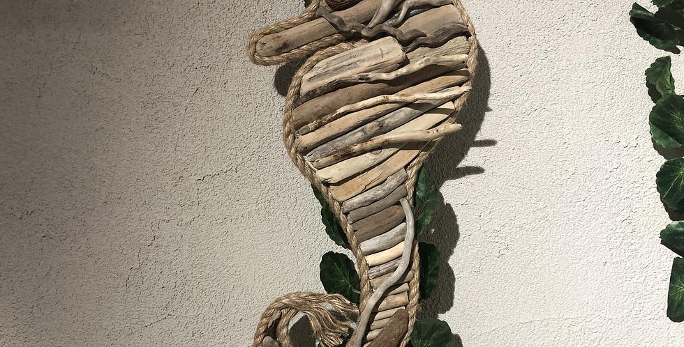 Driftwood Seahorse - Local Artist