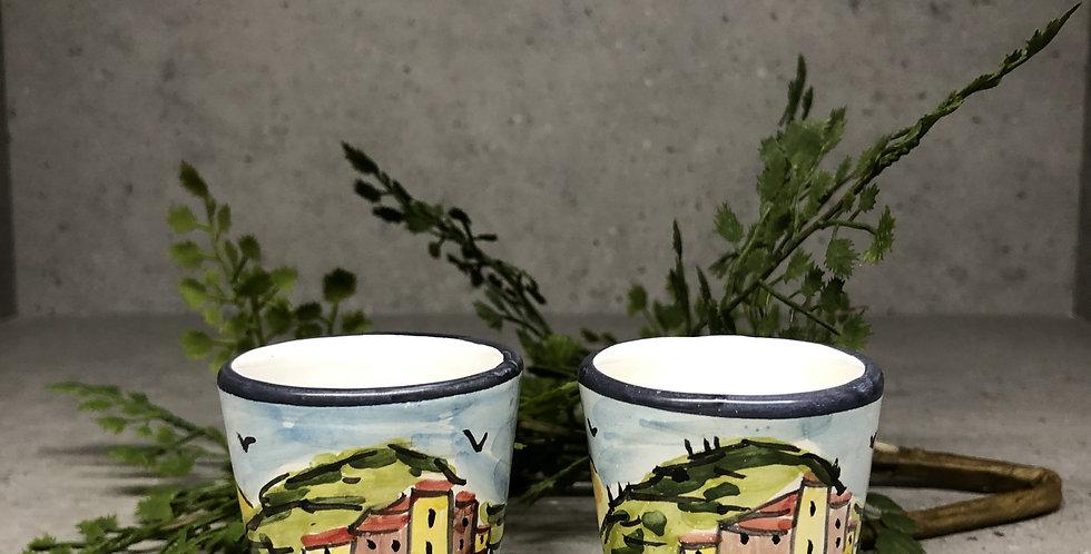 Cinque Terre Shot Glass - Stanard