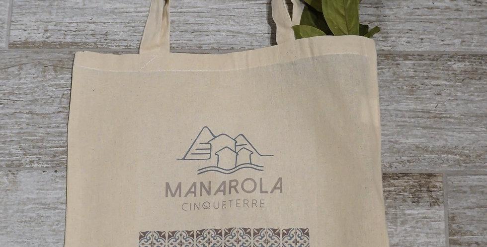 Manarola Tote Bag - Pattern