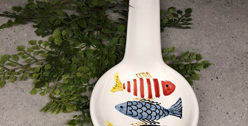Pesce Spoon Plate