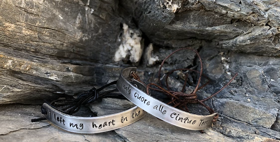 I left my heart in the Cinque Terre (English / Italian)