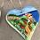 Thumbnail: Ceramic Heart Ornament - Manarola, Cinque Terre