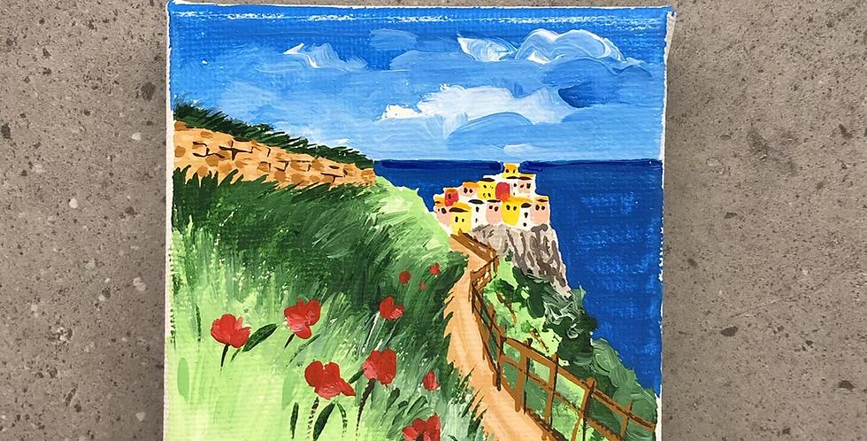 Canvas 10x10 Manarola, Cinque Terre