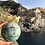 Thumbnail: Gold Painted Manarola Ornament