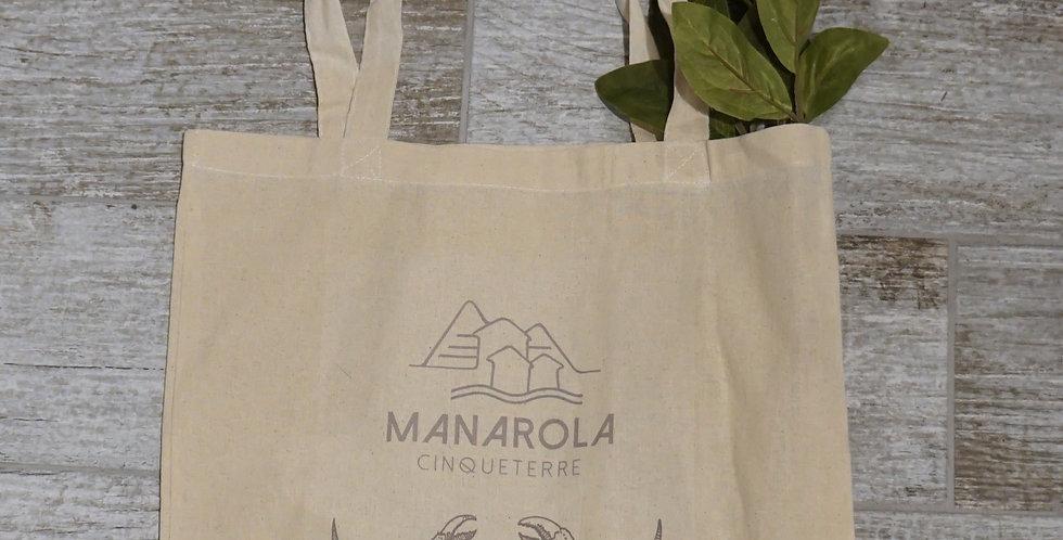 Manarola Tote Bage - Crabby
