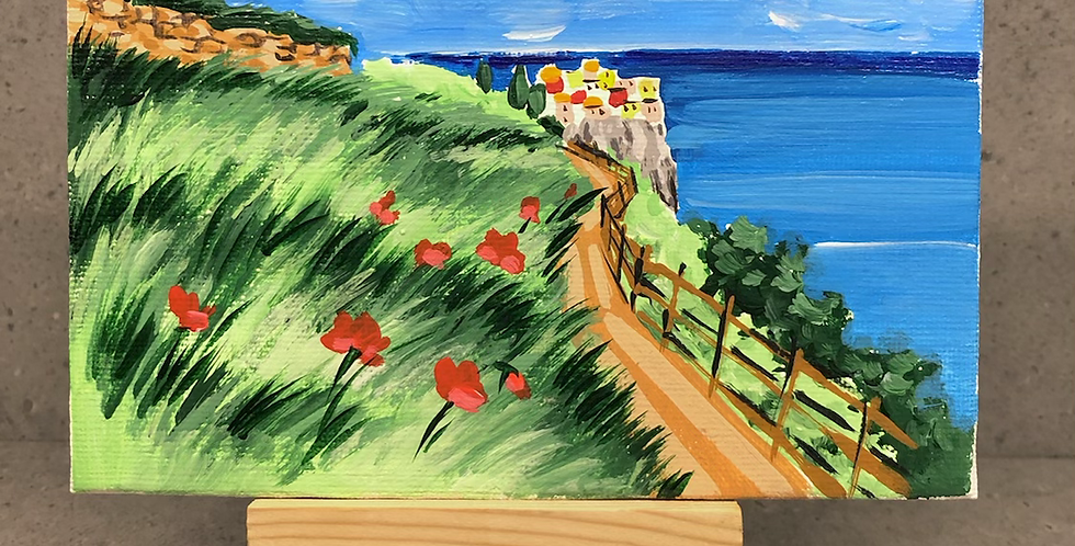 10x15 Canvas Manarola, Cinque Terre
