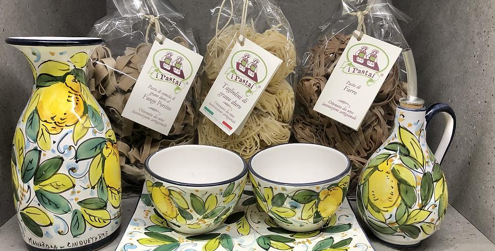 Lemon Ceramic Gift Set