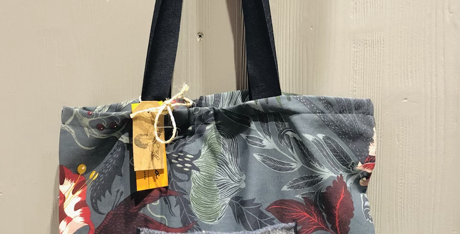 Handmade Floral Bag